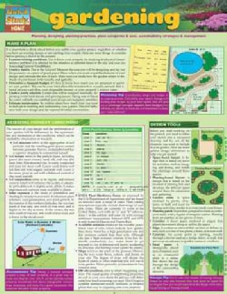 Gardening Tips & Tricks (Wallchart)