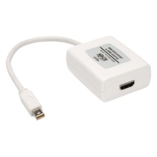 Tripp Lite 6in Mini DisplayPort to HDMI Adpater Converter mDP to HDMI
