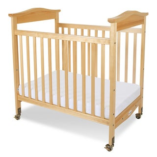 Foundations Biltmore Clearview Fixed Side Compact Crib in Natural
