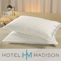 Hotel Madison Down On Top 360 Thread Count Pillow Set Of 2