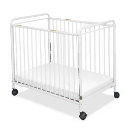 Foundations Chelsea Steel Non-folding Clearview Compact Crib
