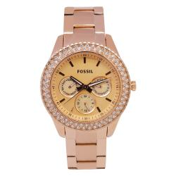 Fossil Women's Stella Rose Gold Watch
