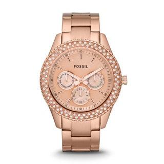 Fossil Women's ES3003 Stella Rose Gold Watch