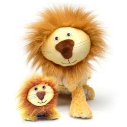 Zoobies 'Lencho the Lion' Plus Mini Plush Blanket Pet