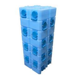BPA-free 56 Gallon Capacity Water Brick with Ultraviolet Protection