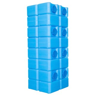 BPA-free 56 Gallon Capacity Water Brick with Ultraviolet Protection