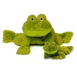 Zoobies 'Flavio the Frog' Plus Mini Plush Blanket Pet