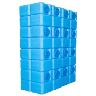 BPA-free 112 Gallon Capacity Water Brick - Ultraviolet Protection