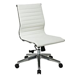 Office Star Mid-Back Eco Leather Chair