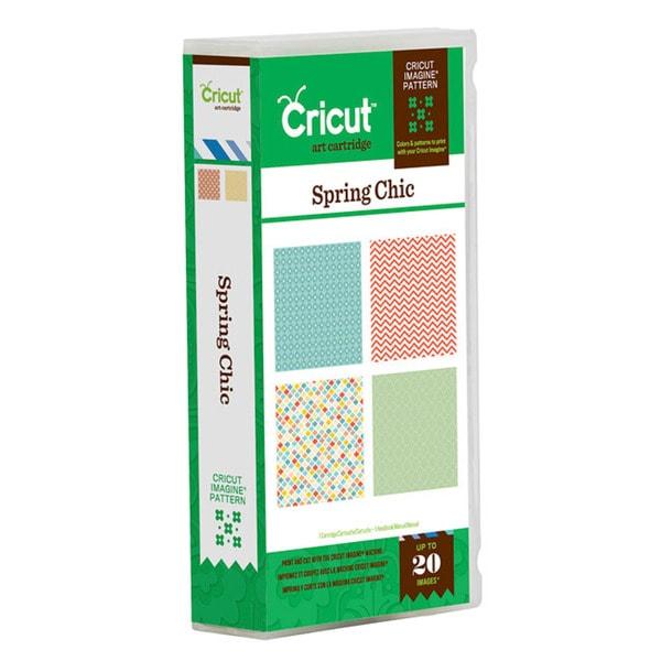 Cricut Imagine? 'Spring Chic' Pattern Cartridge