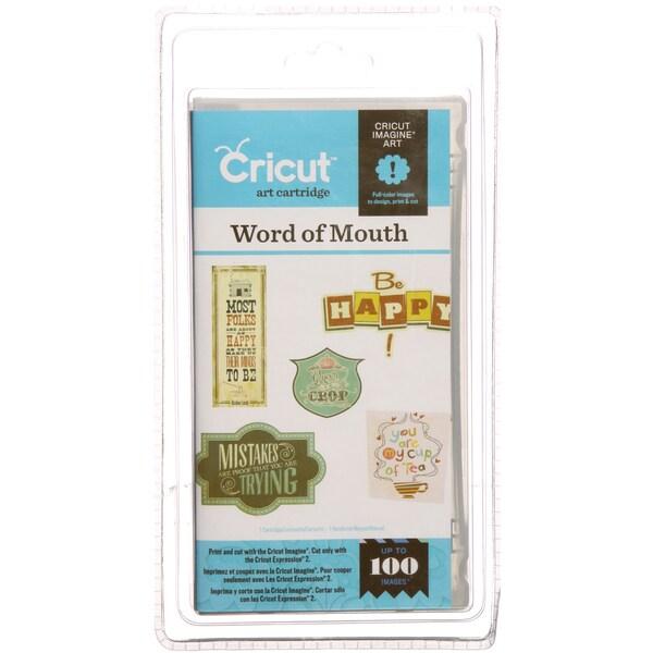 Cricut Imagine Art Cartridge Word of Mouth