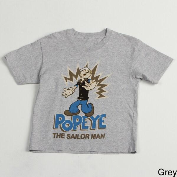 Printed Popeye Boys' Tee Shirt