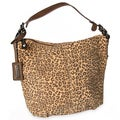 M by Miadora 'Tara' Leopard Print Hobo Bag