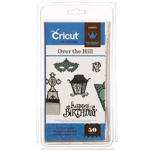 Cricut 'Over the Hill' Events Cartridge