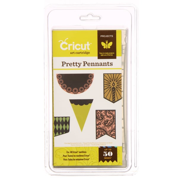 Cricut 'Pretty Pennants' Projects Cartridge