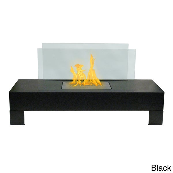 Gramercy Indoor/ Outdoor Floor Standing Ethanol Fireplace