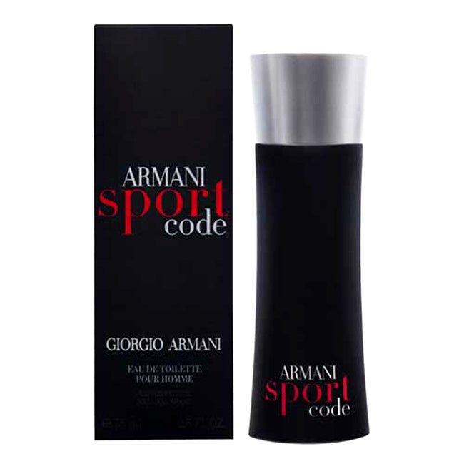 giorgio armani sport code men 39 s 2 5 ounce eau de toilette. Black Bedroom Furniture Sets. Home Design Ideas