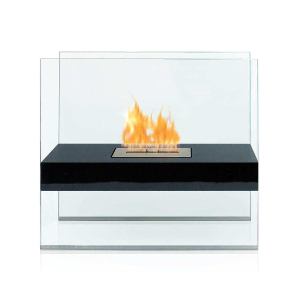 Madison Indoor/ Outdoor Floor Standing Ethanol Fireplace
