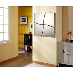 Contemporary Clean Brake Decor Mirror