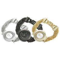 Geneva Platinum Women's Multi-chain Jewelry Style Watch