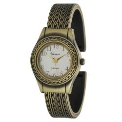 Geneva Platinum Women's Fashion Cuff Watch