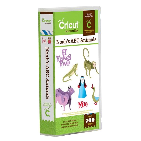 Cricut Noah's ABC Animals Shapes Cartridge