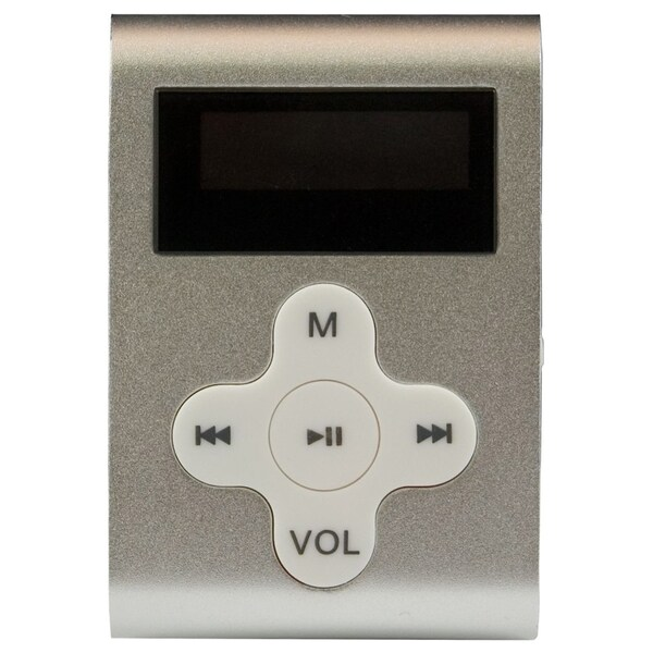 Eclipse 4 GB Flash MP3 Player - Silver