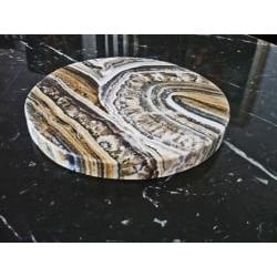 Large Midnight Marble Cheese Slab (Egypt)