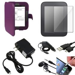 Case/ Screen Protector/ Stylus/ Chargers for Barnes & Noble Nook 2