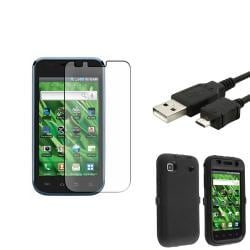 Hybrid Case/ USB Cable/ LCD Protector for Samsung Galaxy Vibrant T959