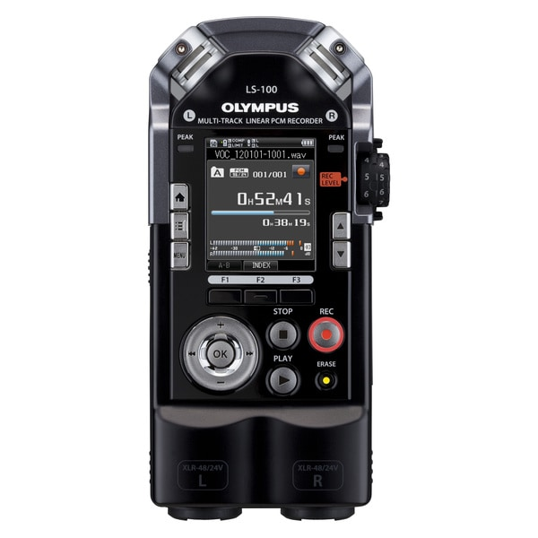 Olympus LS-100 4GB Digital Voice Recorder