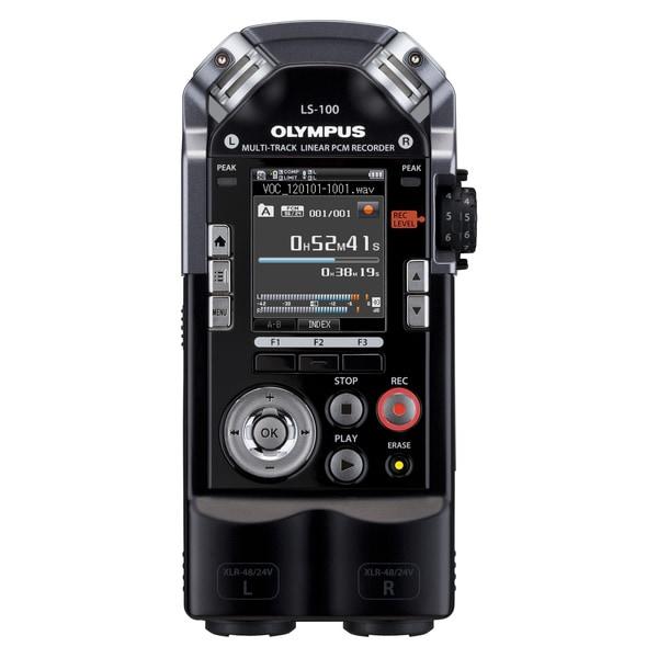 Olympus LS-100 4GB Digital Voice Recorder