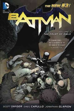 Batman 1: The Court of Owls (Paperback)