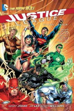 Justice League 1: Origin (Paperback)