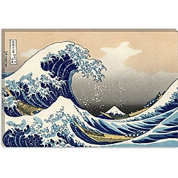 Katsushika Hokusai 'The Great Wave off Kanagawa' Gallery-Wrapped Canvas Art