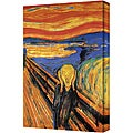 Edward Munch 'The Scream' Gallery Wrapped Canvas