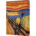 Edward Munch 'The Scream' Gallery-Wrapped Framed Canvas