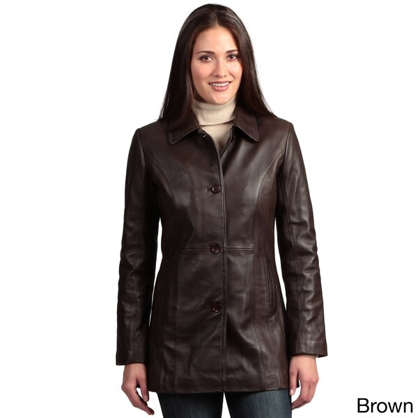 Women's Collezione Italia Lambskin Jacket