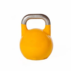 Sixteen-kilogram Steel-shell Sanded-handle Competition Kettlebell