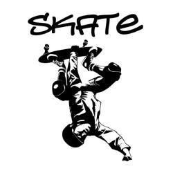 Skateboarder Vinyl Wall Art Decal