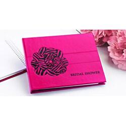 Zebra Print Guest Book