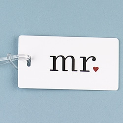 'Mr.' Luggage Tag