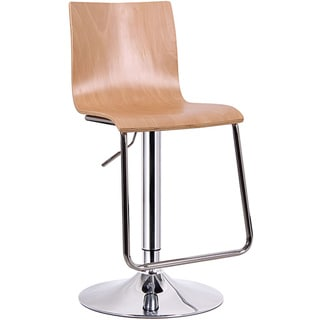 Lynch Light Wood Modern Bar Stool (Set of 2)