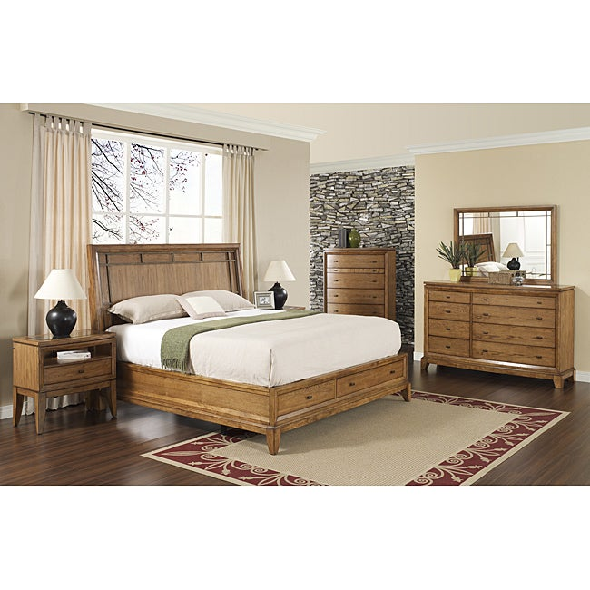 Toluca Lake 5-piece King-size Storage Bedroom Set