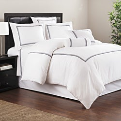 Baratto White 3-piece Duvet Set