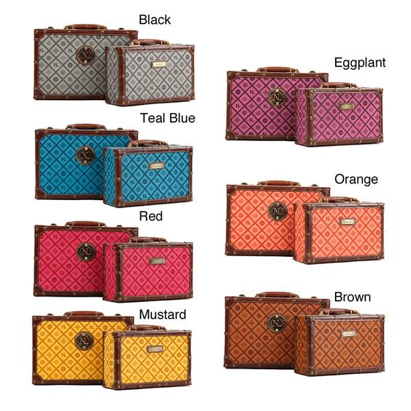 Nicole Lee Adela NL Signature Faux-Leather Briefcase Twin Combo Set