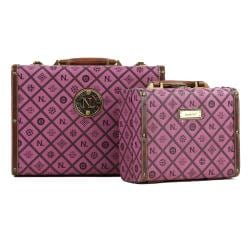 Nicole Lee Adela Signature Briefcase Twin Combo Set