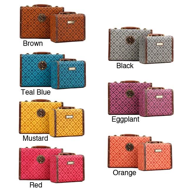 Nicole Lee Adela Signature Briefcase Twin Combo Set