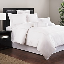 Roxbury Park Baratto White 3-piece Duvet Cover Set