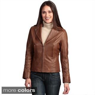 Collezione Italia Women's 'Italia' Lambskin Jacket
